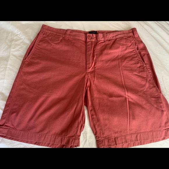 "Men's J. Crew Shorts Size 34; Inseam 9"""